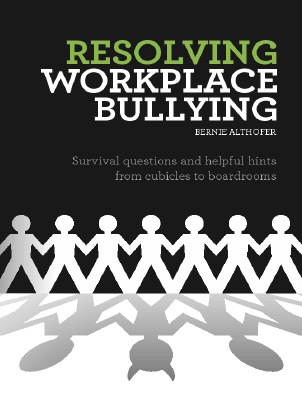 Resovling Workplace Bullying book cover 3